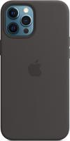 Чехол-накладка Apple Silicone Case With MagSafe для iPhone 12 Pro Max / MHLG3 (черный) -