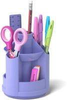 Органайзер настольный Erich Krause Mini Desk, Pastel / 53232 (фиолетовый) -