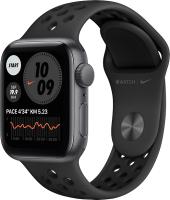 Умные часы Apple Watch Nike SE GPS 40mm / MYYF2 (алюминий серый космос/антрацит) -