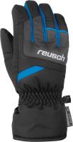 Перчатки лыжные Reusch Bennet R-Tex XT / 6061206 7687 (р-р 6.5, черный/бриллиантовый синий) -