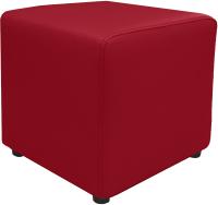 Пуф Brioli Куб (L19/красный) -