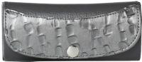Футляр для очков Galanteya 4908 / 0с410к45 (темно-серый/серебристый) -