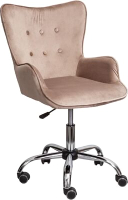 Кресло офисное Седия Bella (велюр бежевый) -