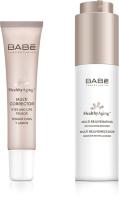 Набор косметики для лица Laboratorios Babe Омолаживающая мульти-сыворотка+мультикорректор для глаз и губ (50мл+15мл) -