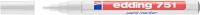 Маркер перманентный Edding 751 e-751-49 (белый) -