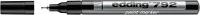 Маркер перманентный Edding 792 e-792-1 (черный) -