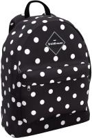 Школьный рюкзак Erich Krause EasyLine 17L Dots in Black / 51730 -