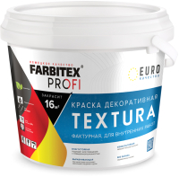 Краска Farbitex Profi Фактурная декоративная акриловая (15кг) -