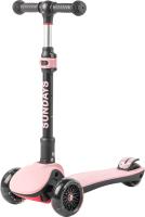Самокат Sundays MS400 (розовый) -