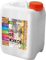 Антисептик для древесины Farbitex Profi Wood Защита от жуков концентрат 1:5 (5л) -