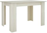 Обеденный стол Комфорт-S Владек 2 (туя светлая/белый) -