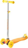 Самокат Sundays KB02D (оранжевый/желтый) -