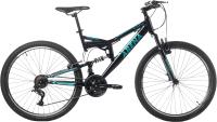 Велосипед Arena Flame 2.0 2021 (18, черный/бирюзовый) -