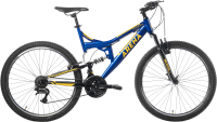 Велосипед Arena Flame 2.0 2021 (18, синий/желтый) -