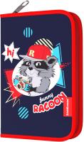 Пенал Erich Krause Funny Racoon / 48528 -