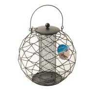 Кормушка для птиц Duvo Plus Для орехов и сухофруктов / 435026/DV (черный) -
