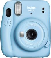 Фотоаппарат с мгновенной печатью Fujifilm Instax Mini 11 Geometric Set (Blue) -