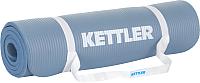 Коврик для йоги и фитнеса KETTLER Basic Fitness 7350-255 (голубой) -
