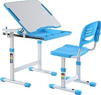 Парта+стул Растущая мебель Smart Elfin B201 (голубой) -