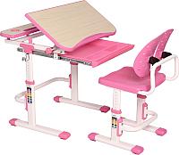 Парта+стул Растущая мебель Smart С502 (розовый) -