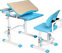 Парта+стул Растущая мебель Smart С502 (голубой) -