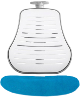 Чехол на стул Comf-Pro Conan (голубой велюр) -