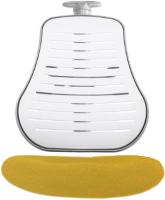 Чехол на стул Comf-Pro Conan (желтый велюр) -