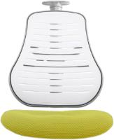 Чехол на стул Comf-Pro Conan (желтый стрейч) -