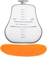 Чехол на стул Comf-Pro Conan (оранжевый велюр) -