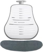 Чехол на стул Comf-Pro Conan (серый велюр) -