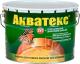 Защитно-декоративный состав Акватекс 10л (сосна) -