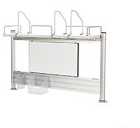 Надстройка для стола Comf-Pro Smart S-Shelf (белый дуб) -