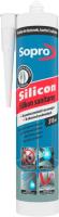 Герметик силиконовый Sopro 061 90 (310мл, черный) -