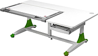 Парта Comf-Pro King Desk (белый/зеленый) -