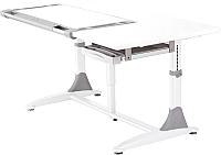 Парта Comf-Pro King Desk (белый/серый) -