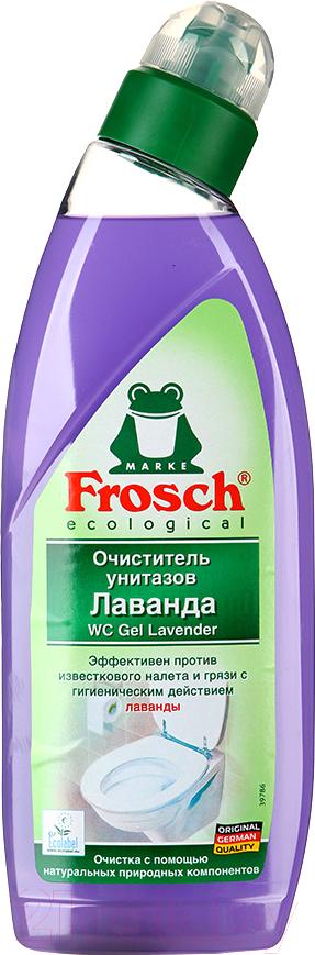 Купить Чистящее средство для унитаза Frosch, Лаванда (750мл), Германия