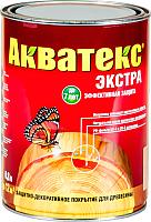 Защитно-декоративный состав Акватекс Экстра (800мл, бесцветный) -