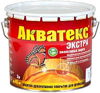 Защитно-декоративный состав Акватекс Экстра (3л, бесцветный) -