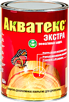 Защитно-декоративный состав Акватекс Экстра (800мл, тик) -