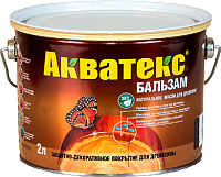 Масло для древесины Акватекс 2л (иней) -