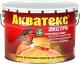 Защитно-декоративный состав Акватекс Экстра (10л, тик) -