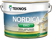 Краска Teknos Nordica Eko House Paint Base 3 (9л) -