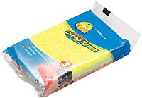 Набор губок для мытья посуды Фрекен Бок СуперКухня (3шт) -