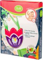 Набор для шитья Делай с мамой Сумочка из фетра. Цветы и птицы / 60760 -