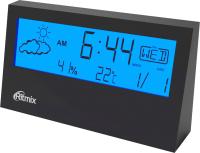 Метеостанция цифровая Ritmix CAT-044 (черный) -