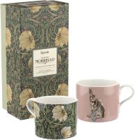 Набор кружек Portmeirion Spode/Morris & Co/Gifts / MCOF8726-XG (2шт, заяц и первоцвет) -