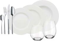 Набор столовой посуды Villeroy & Boch Wonderful World White / 10-1155-9032 (36пр) -