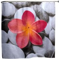 Шторка-занавеска для ванны Aquanet Цветок SC3003A / 202336 -