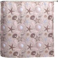 Шторка-занавеска для ванны Aquanet Морские звезды SC7004B / 202332 -