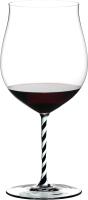 Бокал Riedel Fatto a Mano Burgundy Grand Cru / 4900/16BWT (черный/белый) -